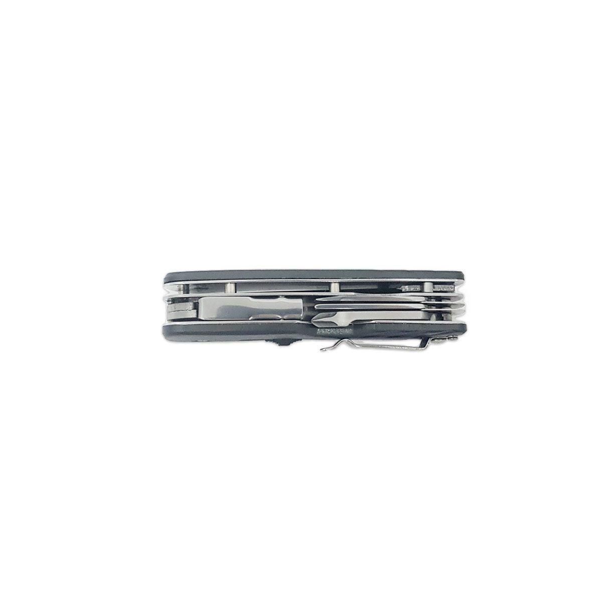 Multi Ferramenta 7 em 1 Cimo Fly Tool Aço Inox 420 Garantia Ilimitada
