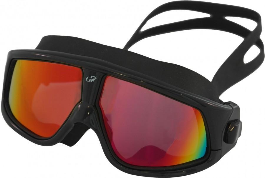 Óculos para Natação Esportes aquáticos Hammerhead Extreme Triathlon Polarizado Mirror Preto espelhado