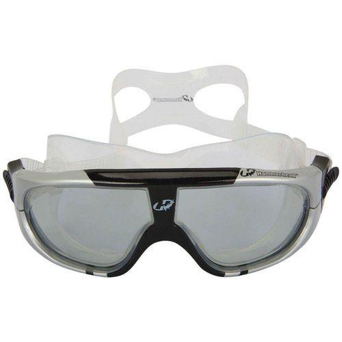 Óculos para Natação e esportes aquáticos Hammerhead Extreme Triathlon Lente anti embaçante, proteção UV Cinza/Fumê