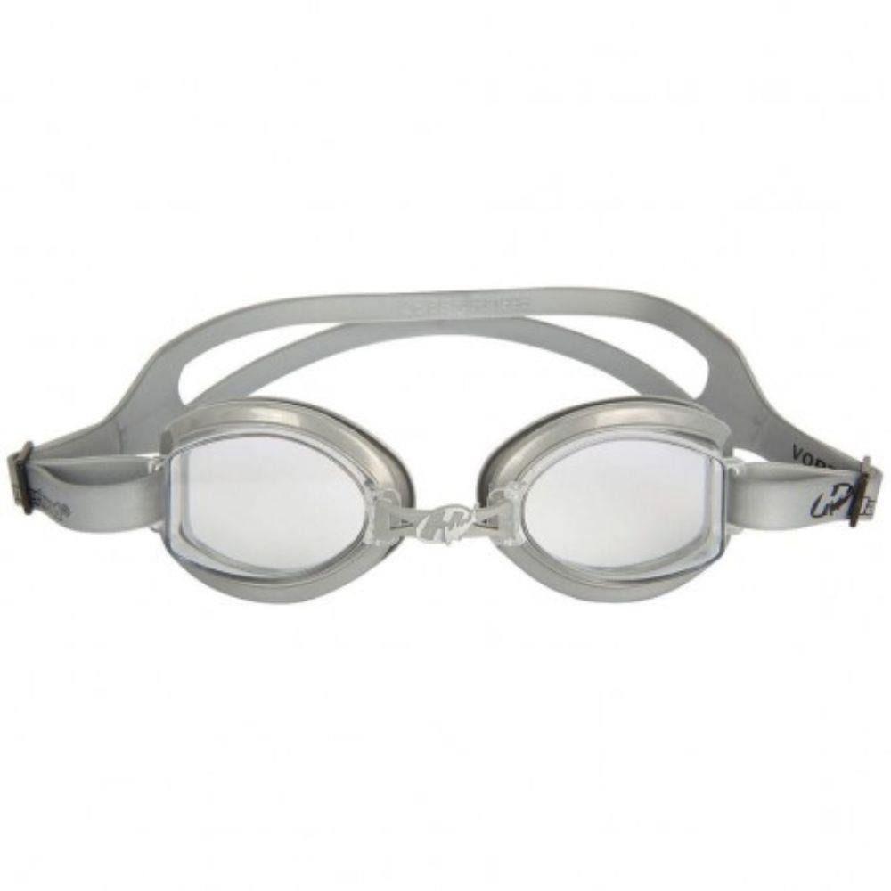 Óculos para Natação Hammerhead Vortex 1.0 Cinza proteção UVA/UVB