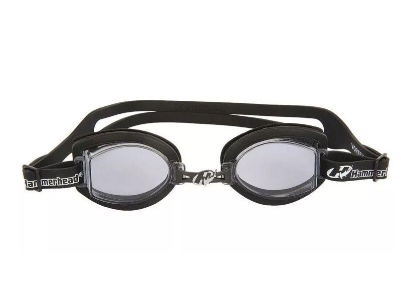 Óculos para Natação Hammerhead Vortex 1.0 Preto / Fumê proteção UVA/UVB