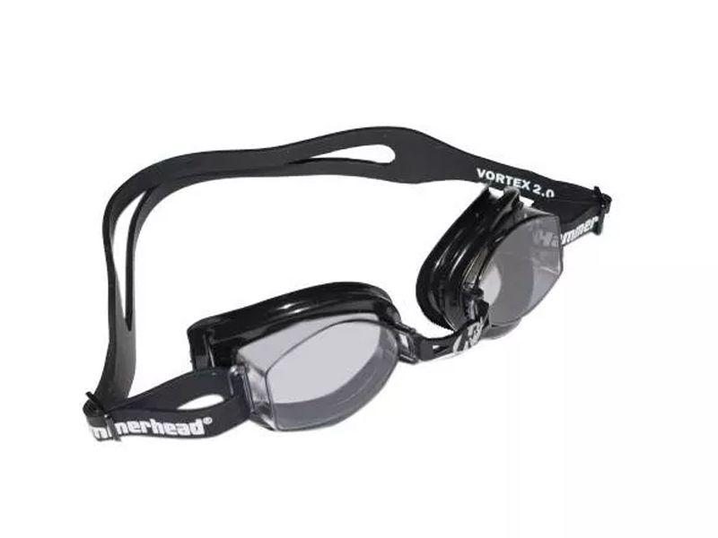 Óculos para Natação Hammerhead Vortex 3.0 Preto com lentes fumê Antiembaçante