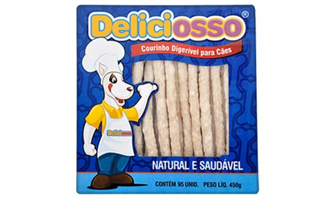 Ossinho Para Cachorro Deliciosso Palito Medio 450g