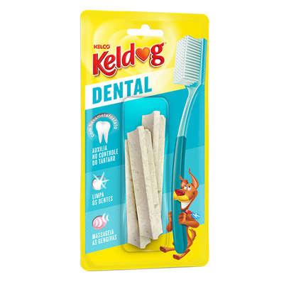 Osso para cães Kelco Keldog Dental Y 40g - 3 un