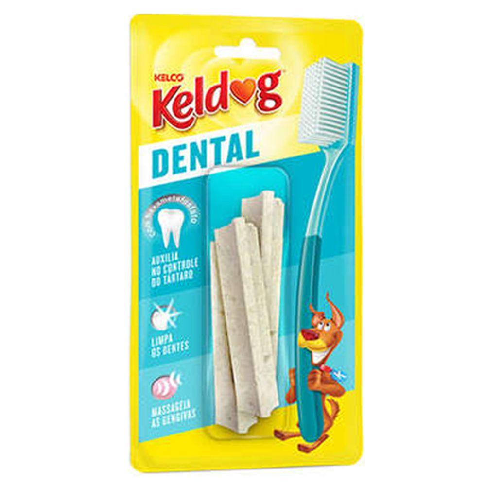Osso para cães Kelco Keldog Dental Y 40g - 3 un Ossinho para cães formato Y limpeza dos dentes