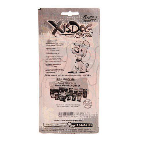 Osso petisco Natural para Cachorro Coxa de peru Xis Dog - Ossinho formato de coxinha 50g
