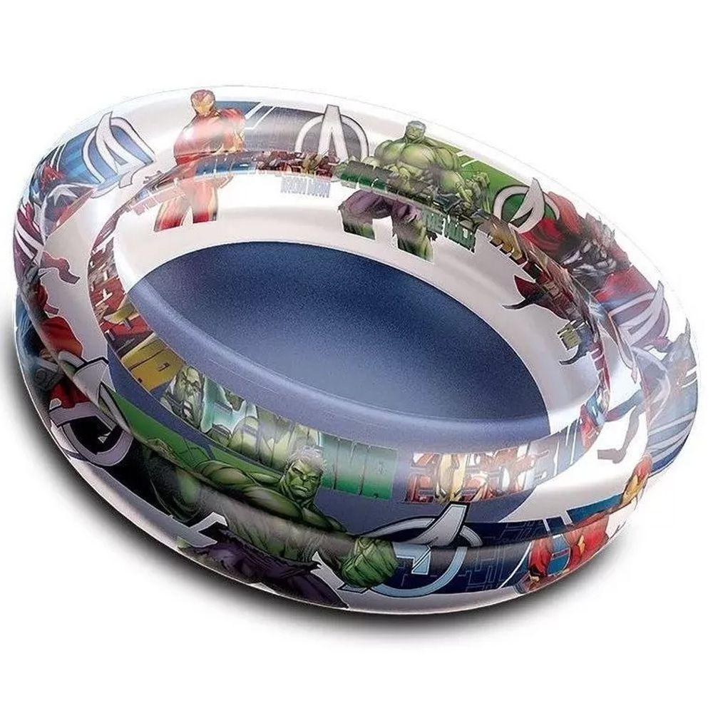 Piscina banheira Inflável para Crianças Colorida Vingadores Avengers 70 Litros (75cm X 22cm)