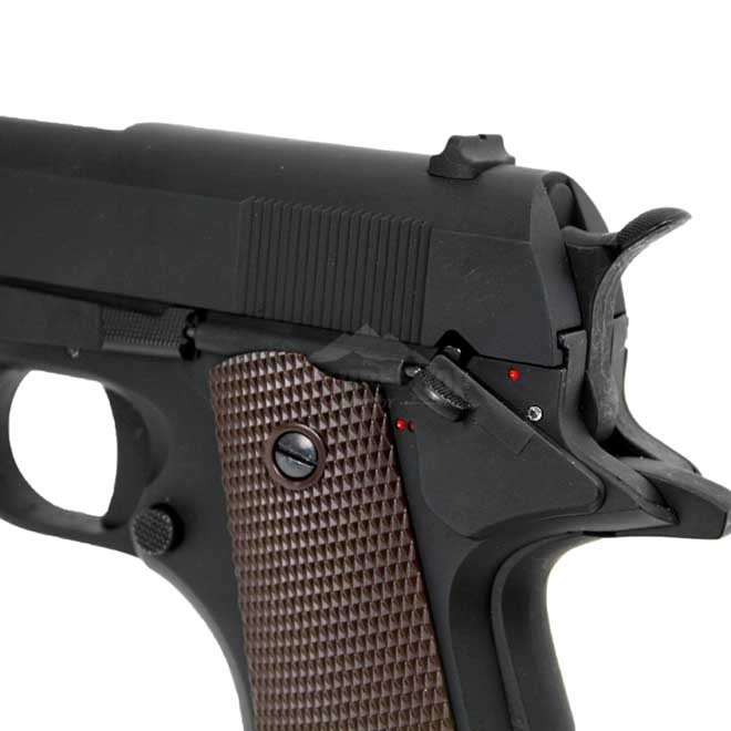Pistola Airsoft Elétrica COLT 1911 Full Metal Cyma 6mm