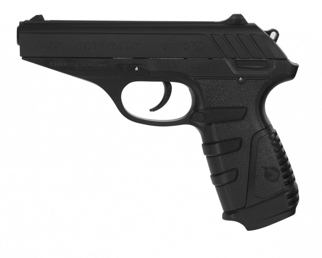 Pistola de Pressão CO2 Gamo P-25 Blowback 4,5mm