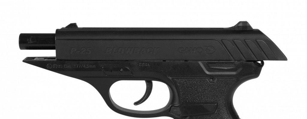 Pistola de Pressão CO2 Gamo P-25 Blowback 4,5mm