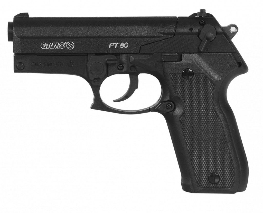 Pistola de Pressão CO2 Gamo PT-80 4,5mm