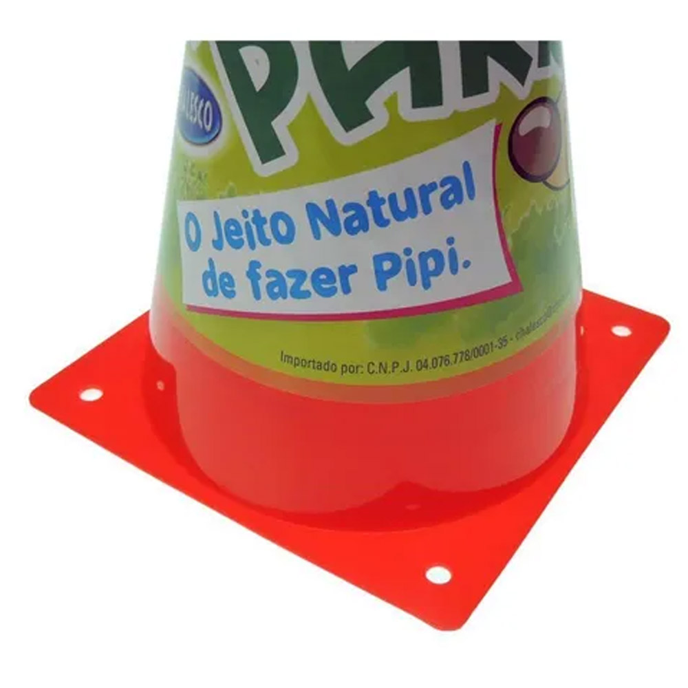 Poste cone educador sanitário para cães - Postinho para xixi cachorro pipi park 24cm Chalesco