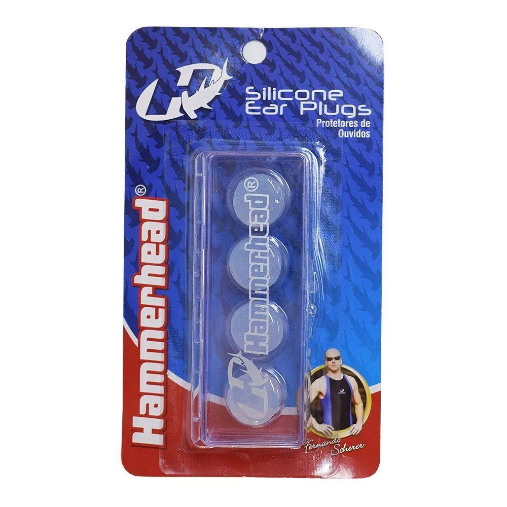 Protetor de ouvido de silicone para Natação Hammerhead