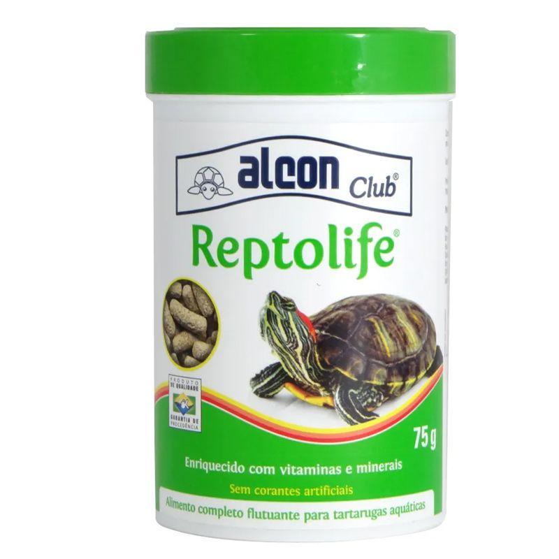 Ração de tartarugas Reptolife Alimento completo para Tartaruga Reptolife Alcon 75g