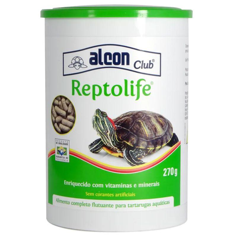 Ração de tartarugas Reptolife Alimento completo para tartarugas Alcon 270g
