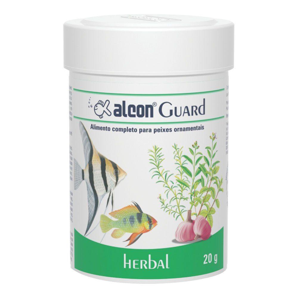 Ração para peixes Alcon Guard Herbal 20g