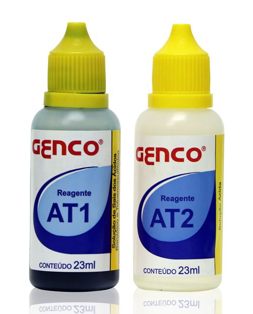 Reagentes Alcalinidade Total AT1 e AT2 Genco