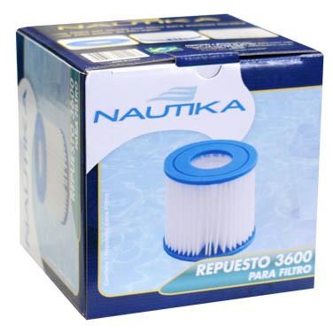 Refil 3600 para filtro Nautika