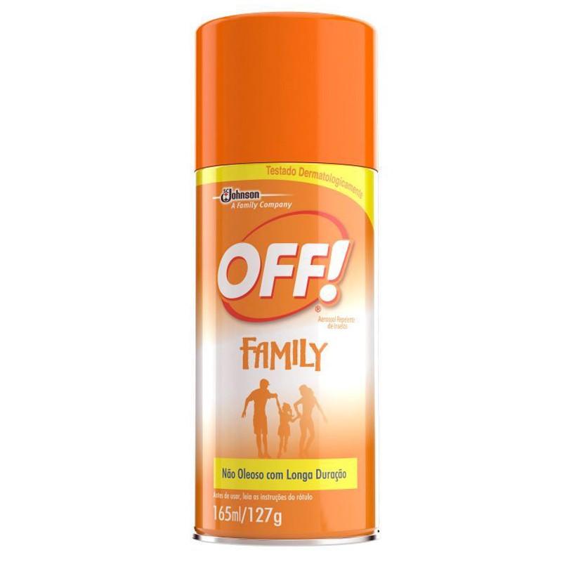 Repelente Off Family Aerosol 165ml