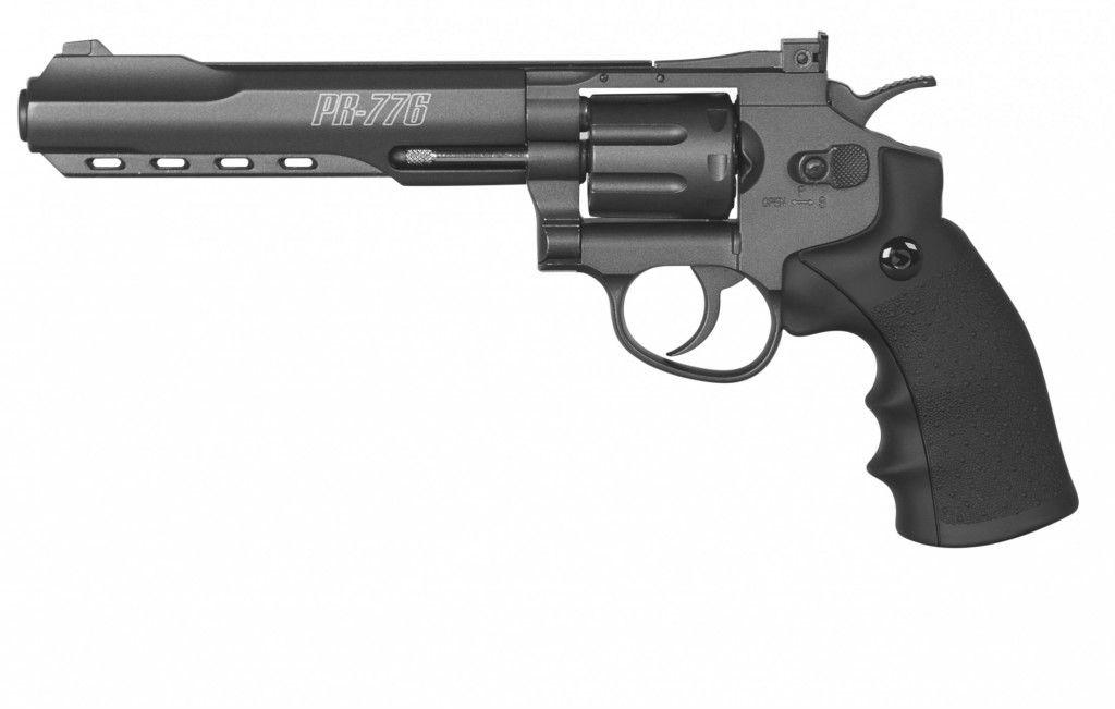 Revolver de Pressão CO2 Gamo PR-776 4,5mm