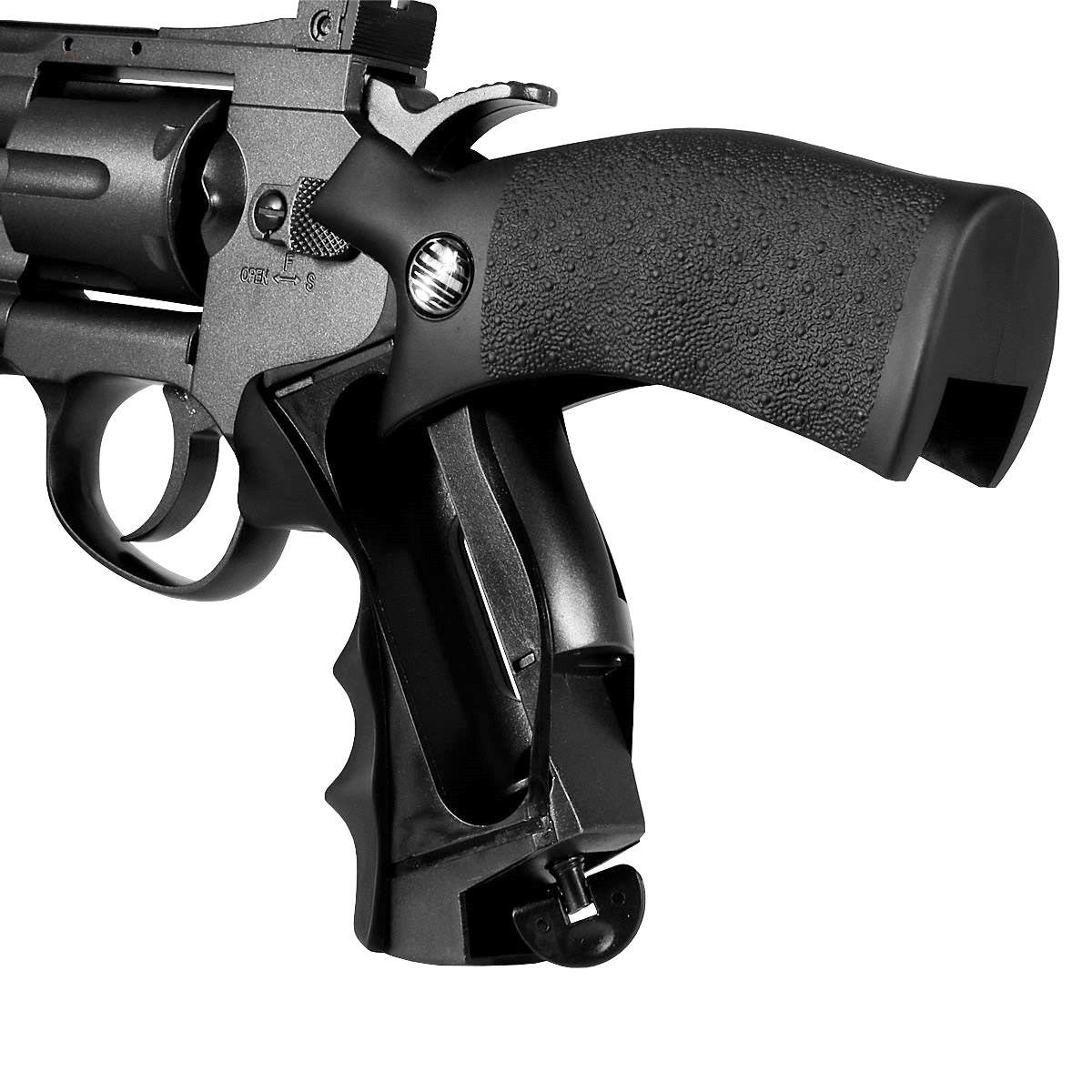 Revolver de Pressão CO2 Rossi M701 6 tiros 4,5mm
