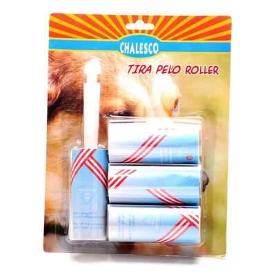Rolinho Adesivo Tira Pelos de Cachorro e Gatos Chalesco Roller