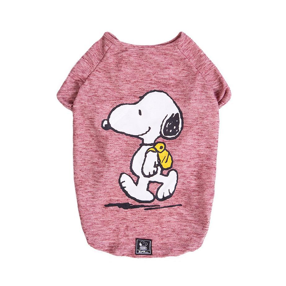 Roupinha para cães - Camiseta de inverno para cachorro Snoopy Back Pack Hike ZooZ Pets P