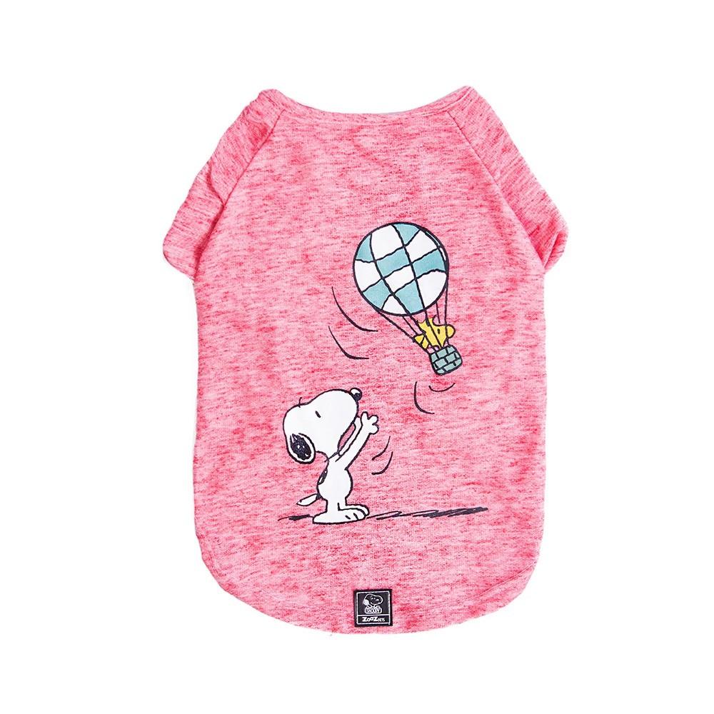 Roupinha para cães - Camiseta para cachorro Snoopy Wood Balloon ZooZ Pets M