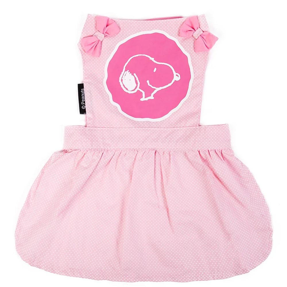 Roupinha para cães Vestido Snoopy rosa Zooz Pets - Vestido para cachorro snoopy rosa