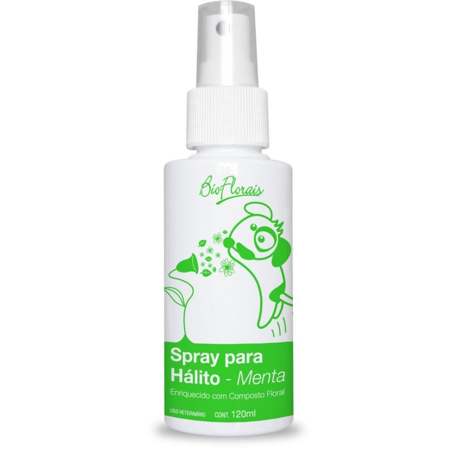 Spray Para Hálito Para Cachorro E Gato Sabor Menta - Spray de boca para animais