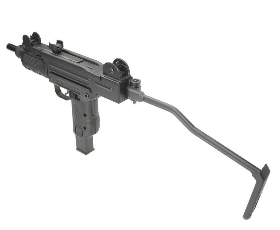Submetralhadora Mini Uzi CO2 4,5mm KWC Rossi