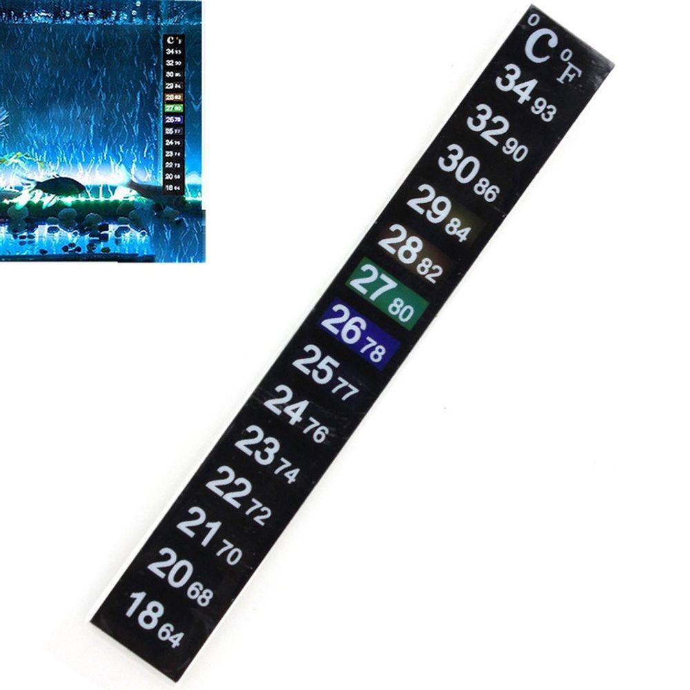 Termômetro Digital para Aquários Lcd Adesivo para fixação no vidro do aquário Vigo Ar