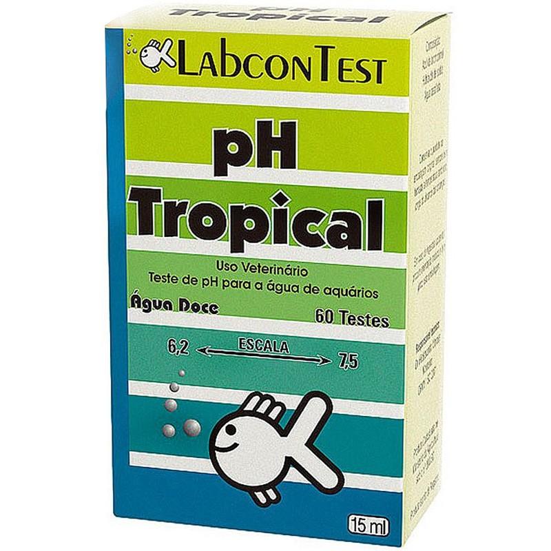 Teste de PH para água de aquários Labcon Test Alcon - identifica ph ideal para água do aquário