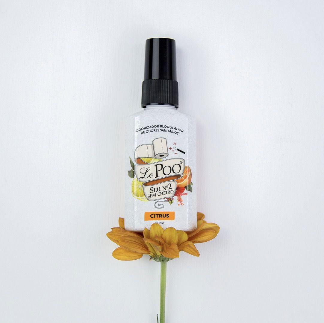 Bloqueador de Odores Sanitários Citrus LePoo