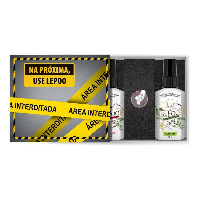 Kit Interditado Alecrim  Bloqueador + Sabonete