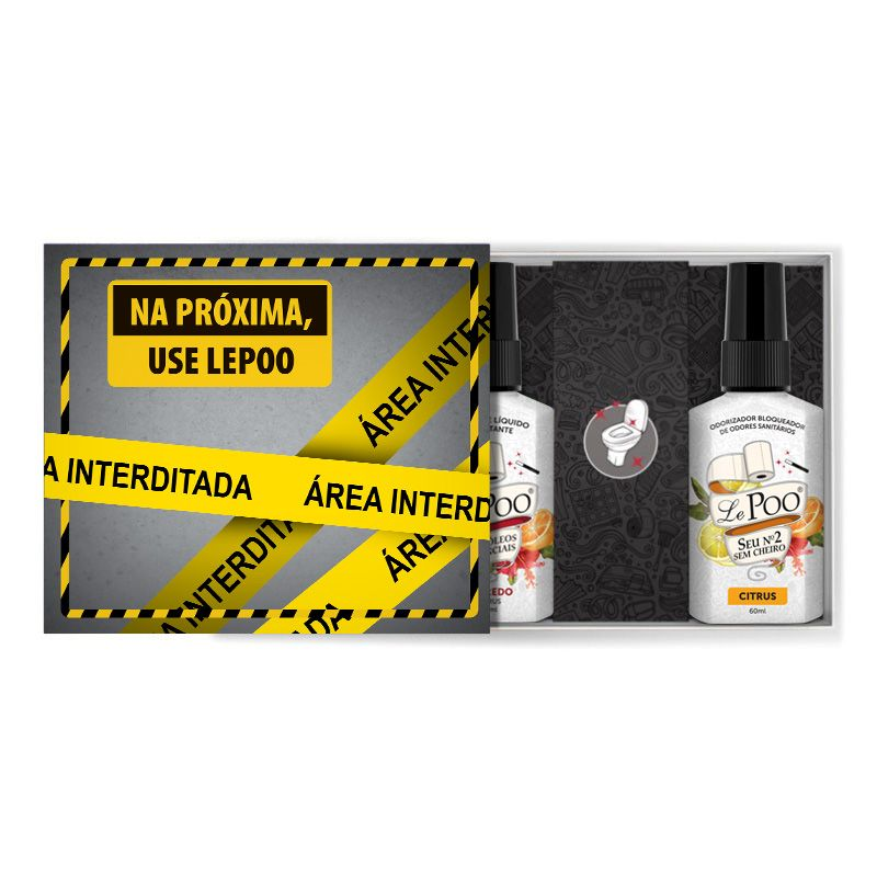 Kit Interditado Citrus Bloqueador + Sabonete
