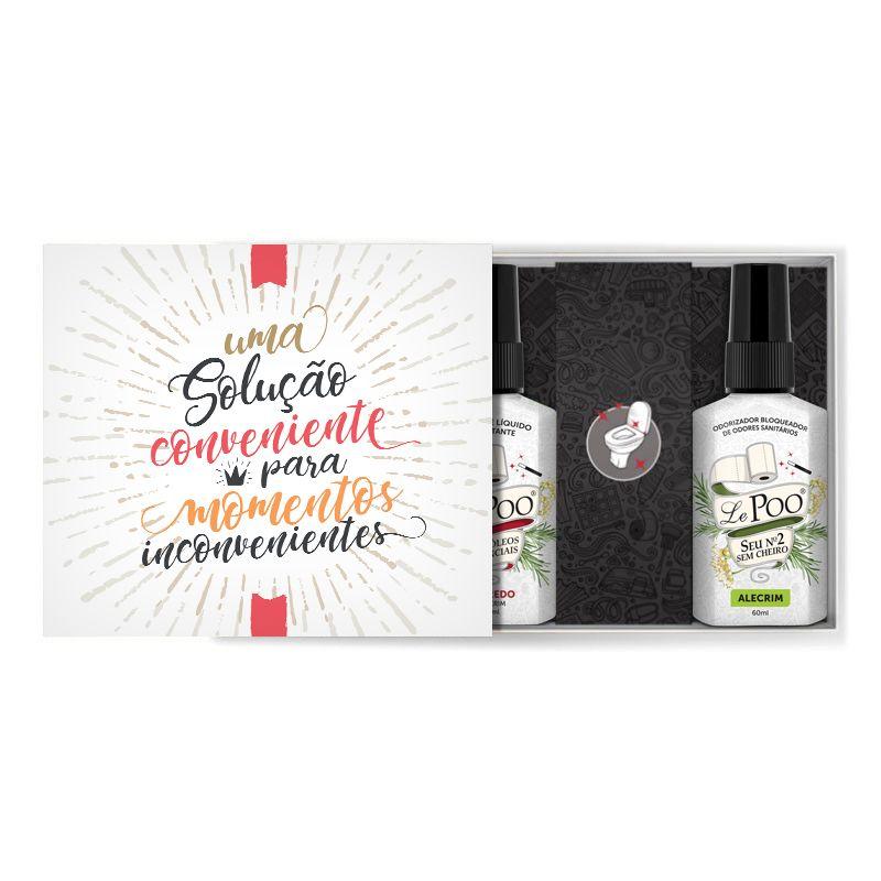 Kit Solução Conveniente Alecrim  Bloqueador + Sabonete