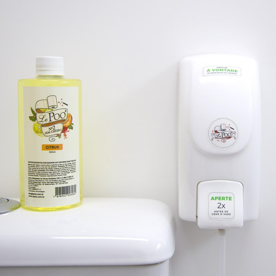 Refil Citrus 500ml - Bloqueador de Odores Pro