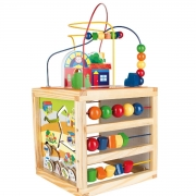 Brinquedo Educativo Aramado Casinha - Caixa Papel