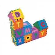Brinquedo Educativo Castelinho Quebra Cabeça Alfabético