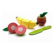 Brinquedo Educativo Comidinhas Banana, Goiaba, Maçã