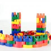 Brinquedo Educativo Conectando Formas - 40 peças