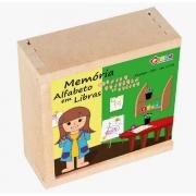 Brinquedo Educativo Libras - Memoria Alfabeto