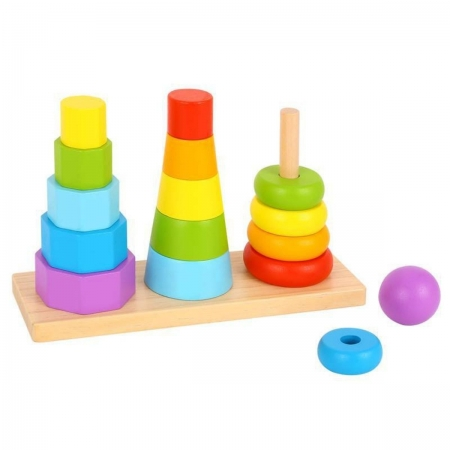 Brinquedo Educativo Lúdico Encaixe Forma Geométrica