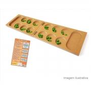 Brinquedo Pedagógico Educativo Lúdico Mancala