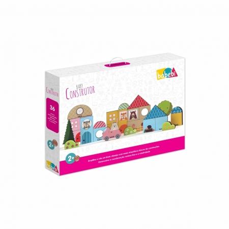 Brinquedo Educativo Montessori Baby Construtor