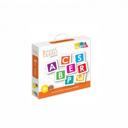 Brinquedo Educativo Montessori Formando Palavras
