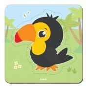 Brinquedo Educativo Montessori Quebra Cabeça Baby - Tucano