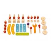 Brinquedo Educativo Pedagógico Montessori Gire e Crie