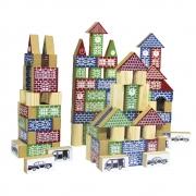 Brinquedo Educativo  Pequeno Construtor e Engenheiro 500pç